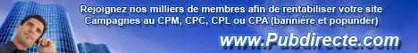 Pubdirecte.com - Régie Pub internet